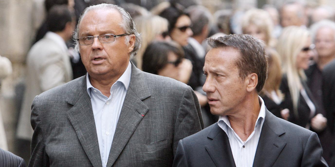 Gérard Louvin et son mari Daniel Moyne visés par une enquête pour viols sur mineurs - Europe 1