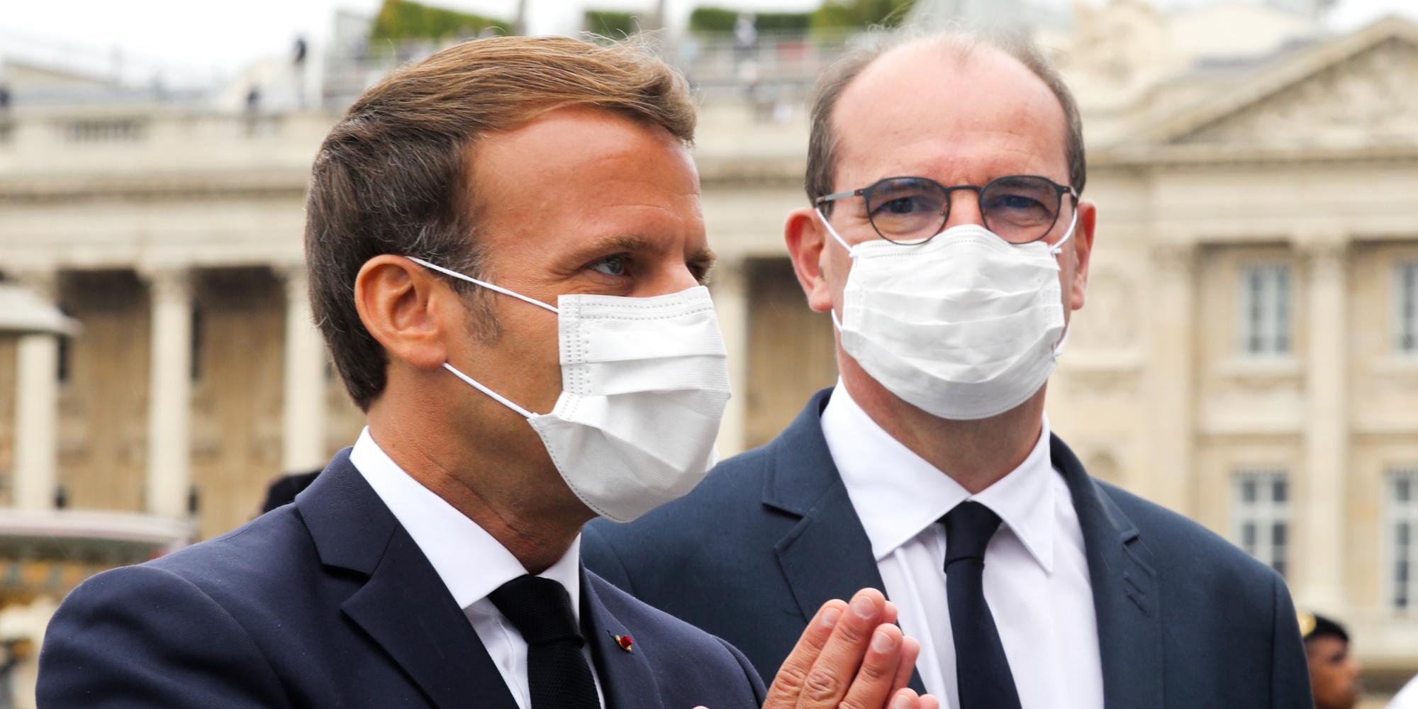 La popularité d'Emmanuel Macron en hausse, celle de Jean Castex reste stable