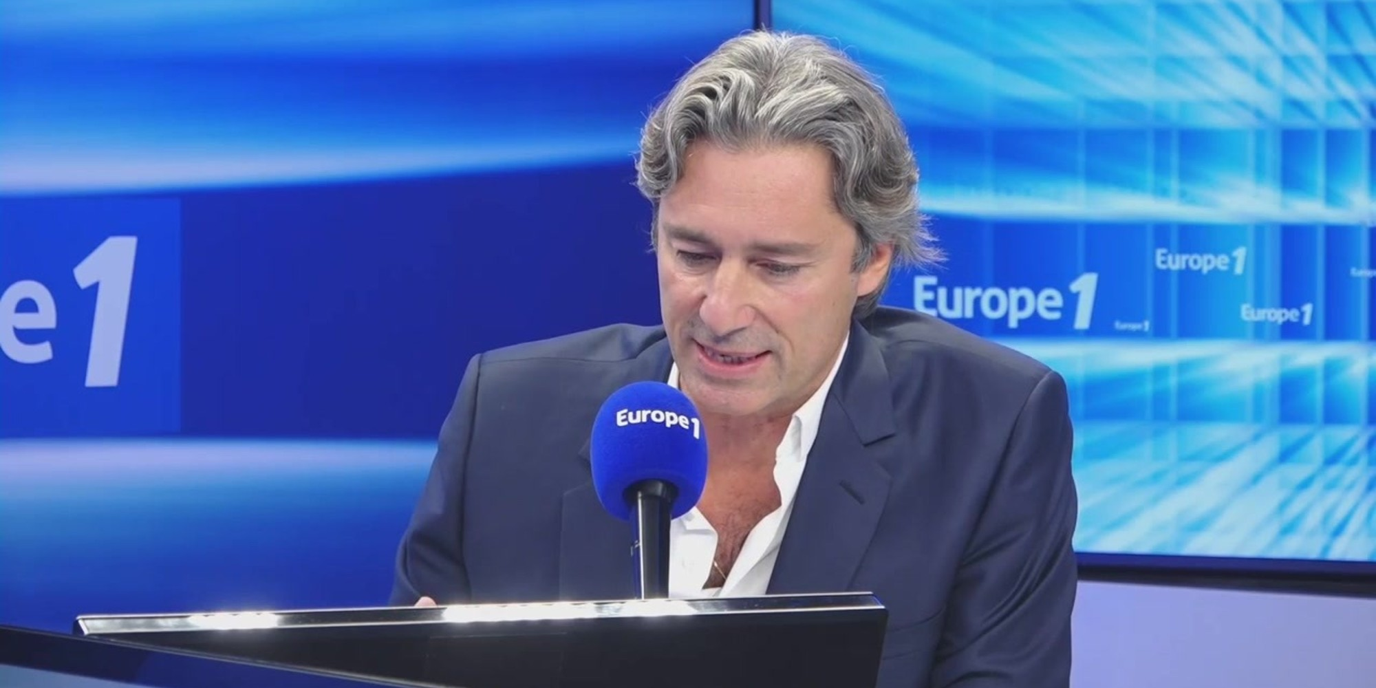 Laurent Solly, directeur général de Facebook France, est l'invité exceptionnel d'Europe 1