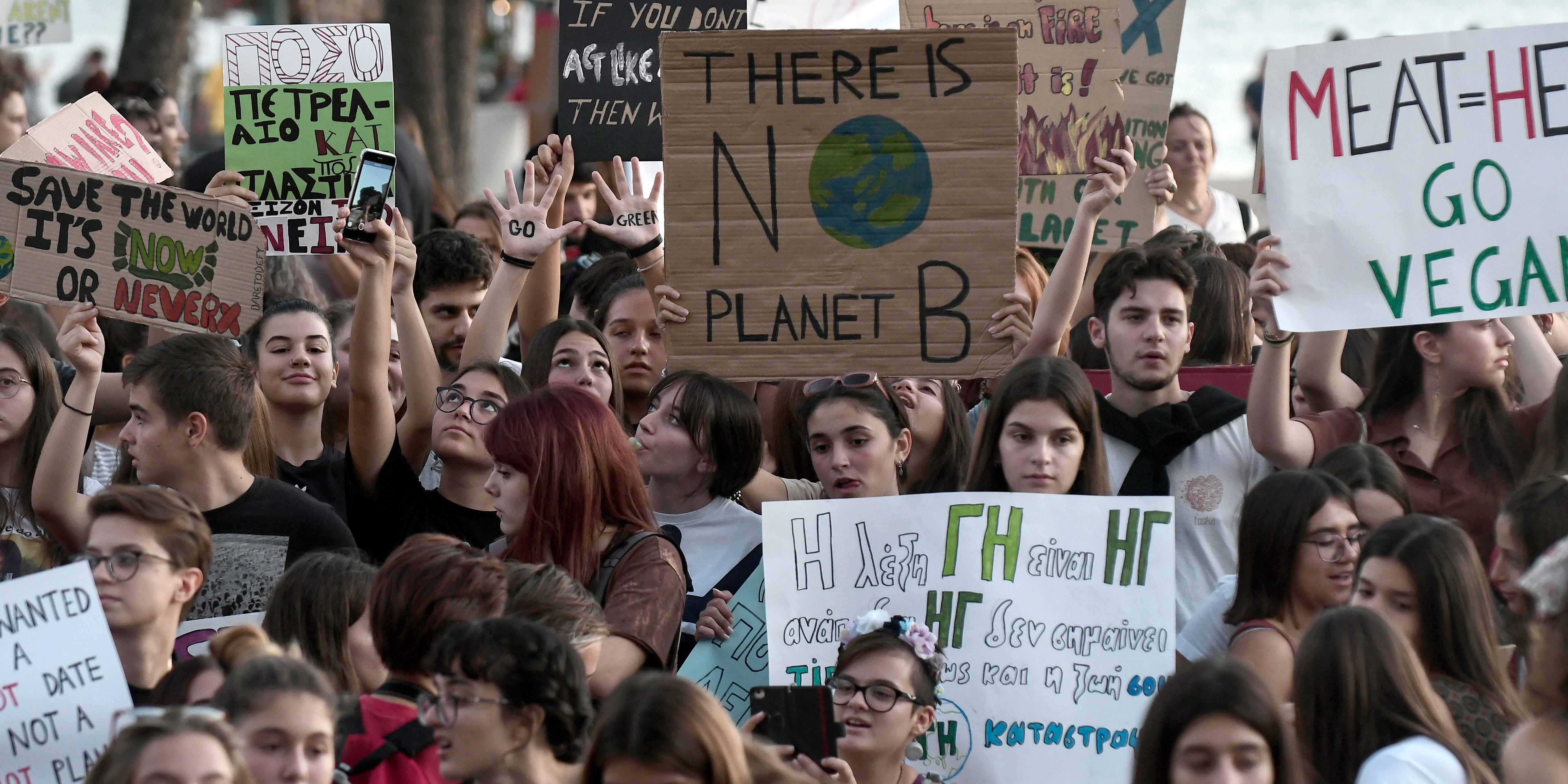 Les étudiants préfèrent s'engager pour le climat plutôt que de travailler pour les Gafa