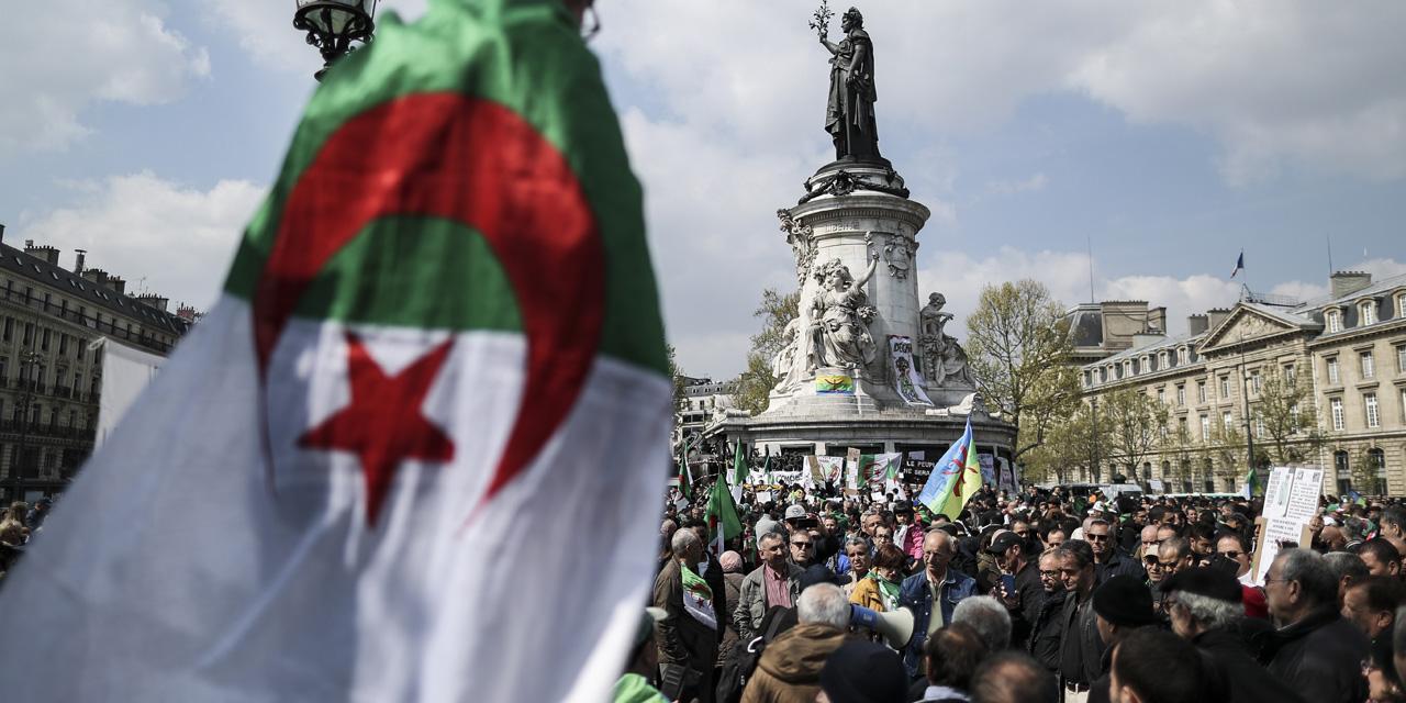 New Demonstration In Paris Against The Algerian Power Teller Report