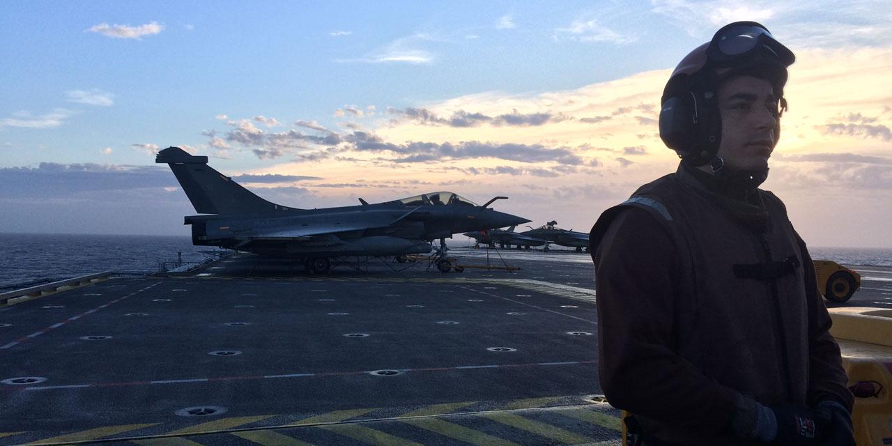 Reportage 48 Heures A Bord Du Porte Avions Charles De Gaulle