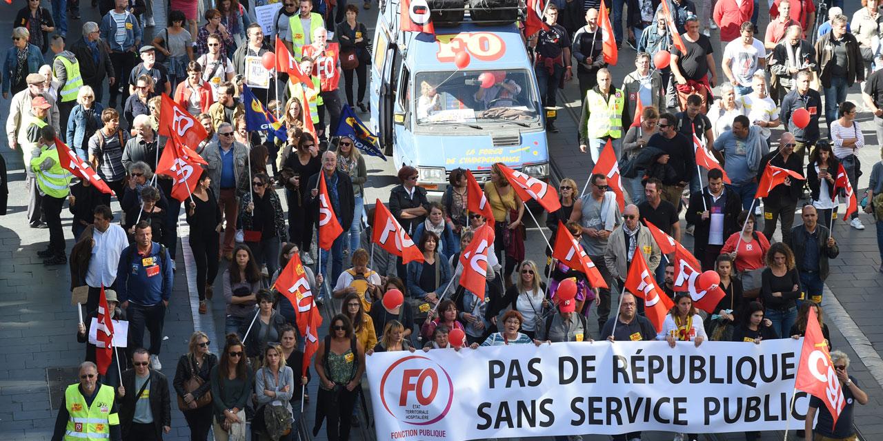 3bfddd8616d Sept syndicats de fonctionnaires appellent à une