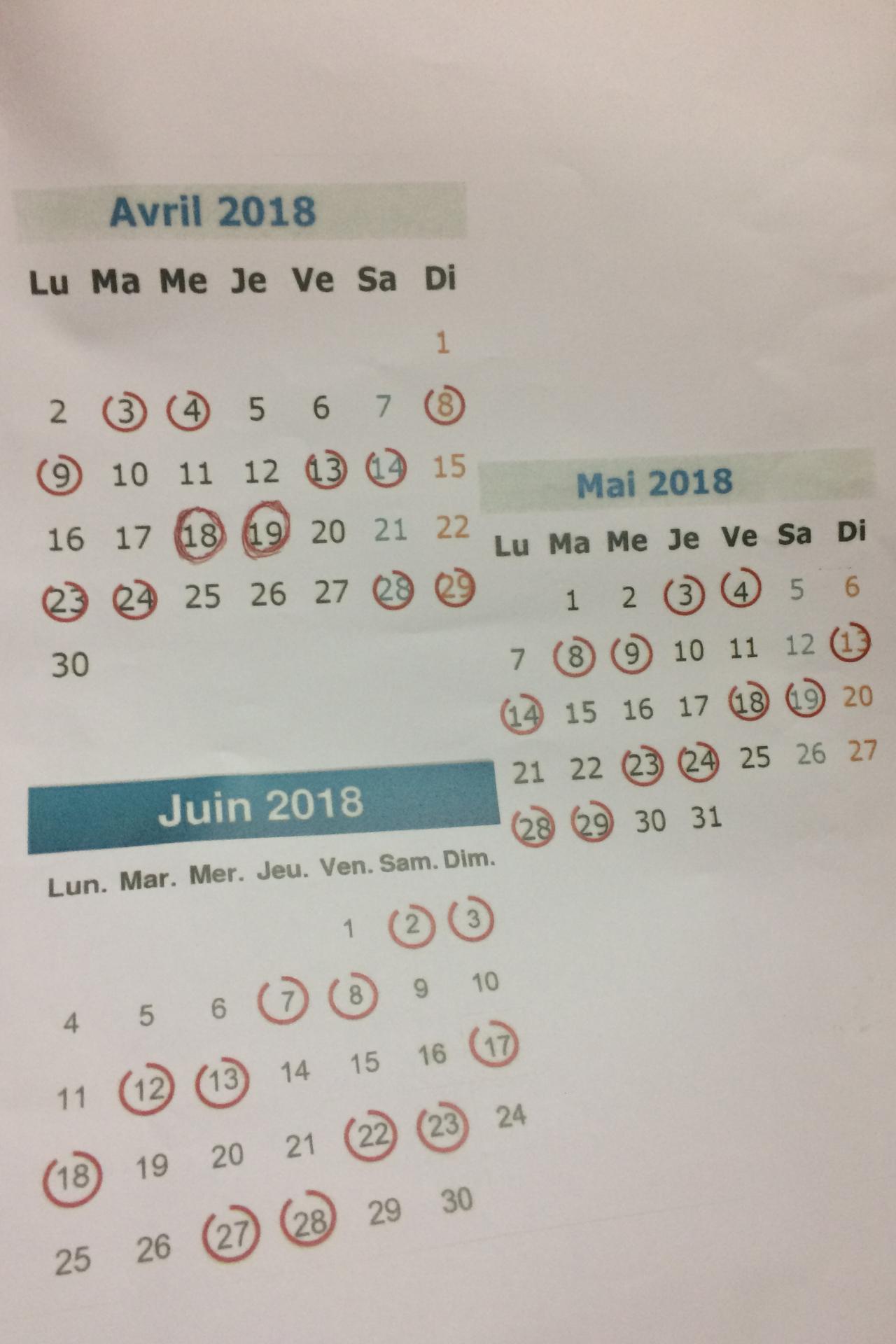 SNCF : découvrez le calendrier prévisionnel de la grève