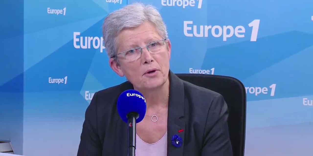 """Tensions lors du 14-Juillet : """"Je trouve ça vraiment navrant"""", réagit la secrétaire d'État Geneviève..."""