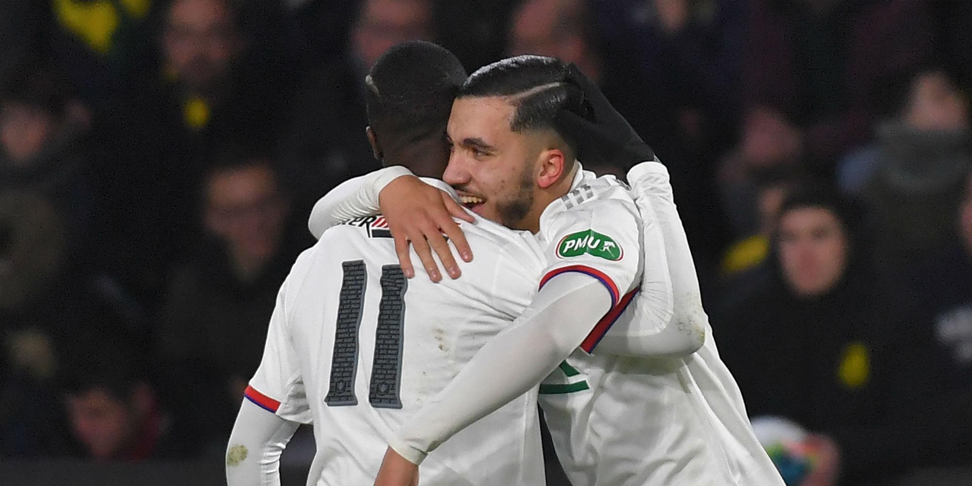 Coupe de France : le PSG bat difficilement Lorient, le prodige Rayan Cherki porte Lyon
