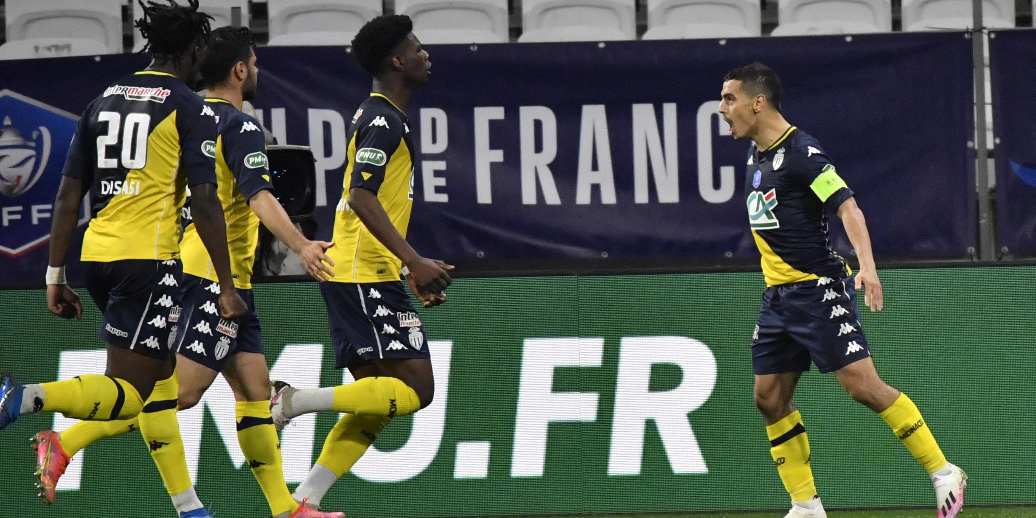 Coupe de France : Monaco se qualifie à Lyon au terme d'un quart de finale heurté