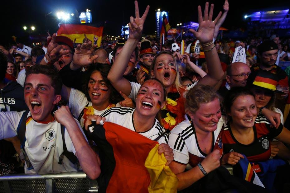 LAllemagne explose le Brésil et les audiences