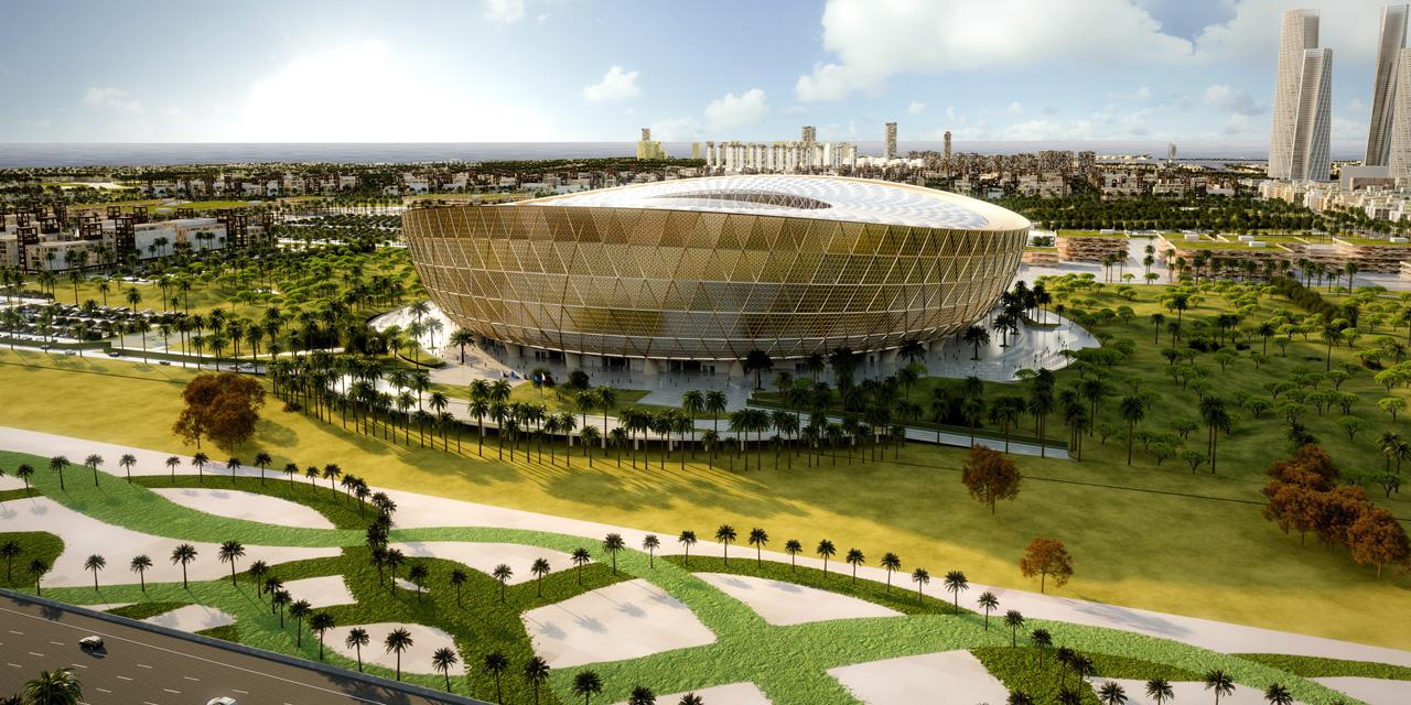 Le stade de la finale de la coupe du monde 2022 d voil au qatar - Stade coupe du monde 2022 ...