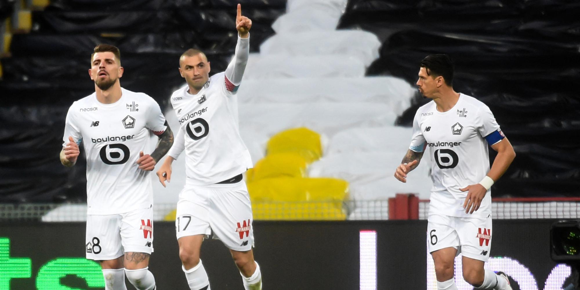 Ligue 1 : Lille remporte le derby du Nord et met la pression sur Paris