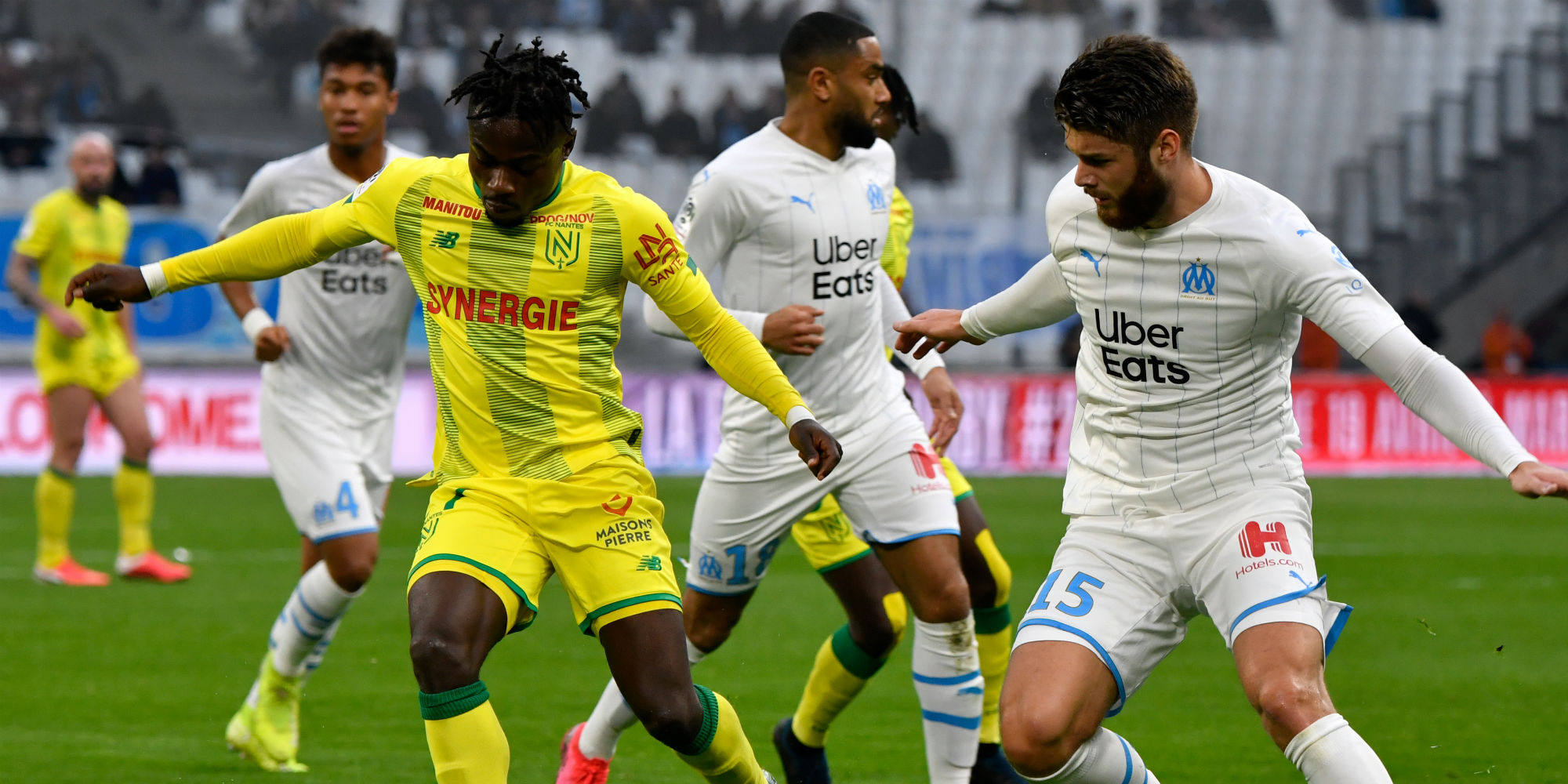 Ligue 1 Om Fall Against Nantes Monaco Hung On Dijon And Lille Triumph Over Toulouse Teller Report