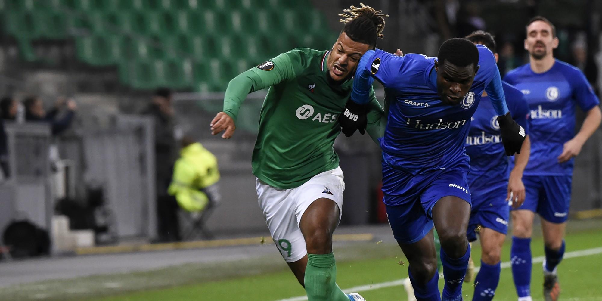 Ligue Europa : Saint-Etienne éliminé après son match nul contre la Gantoise (0-0)