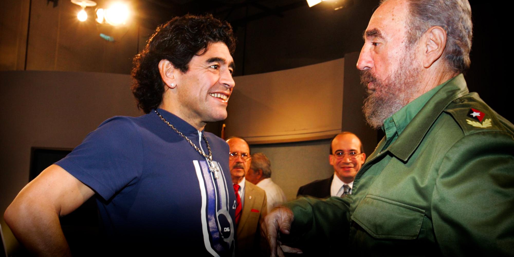 Argentine : Maradona la légende, Diego l'engagé