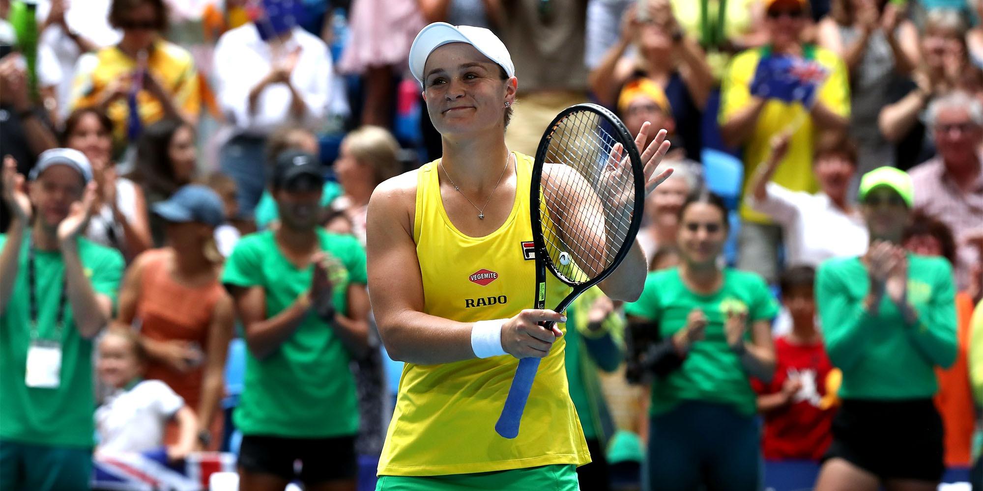 Tennis : la numéro un mondiale Ashleigh Barty renonce à l'US Open à cause du coronavirus