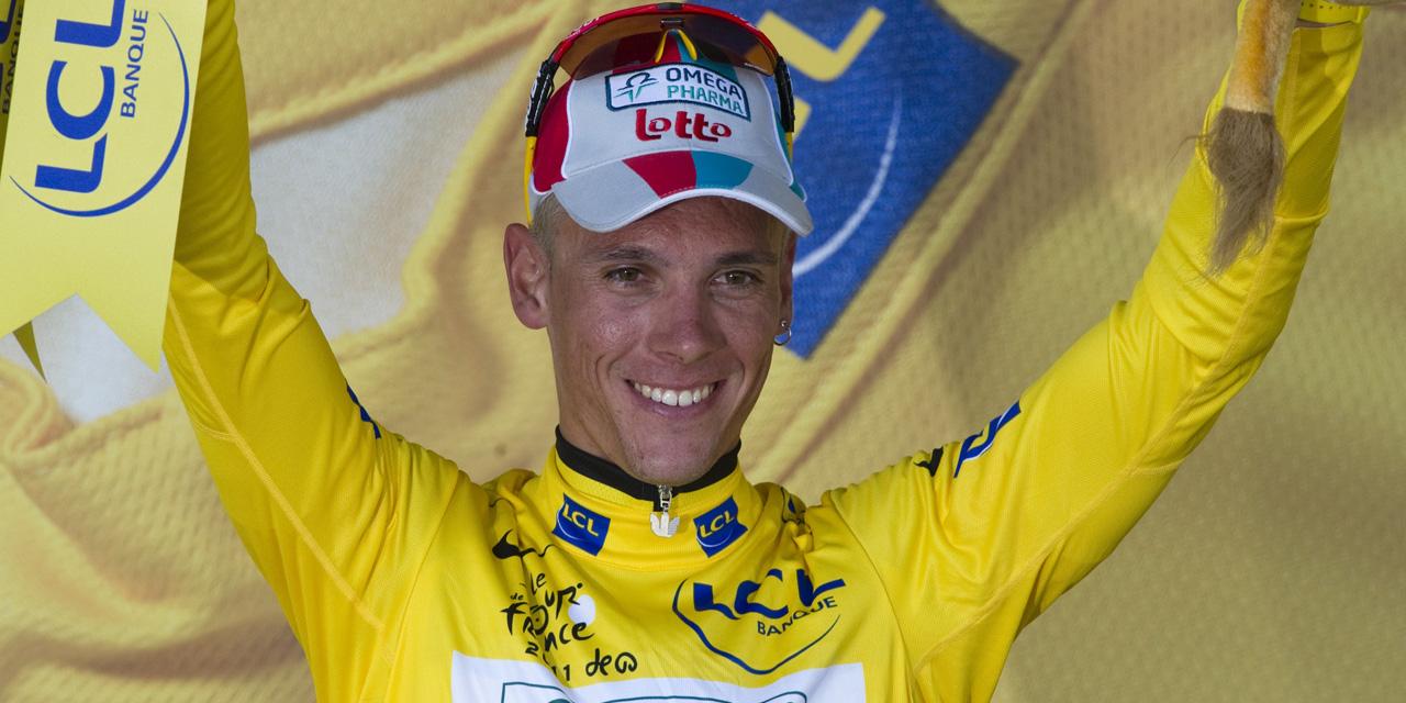 """Tour de France : """"Je me suis fait voler mon Maillot jaune"""" regrette Philippe Gilbert"""