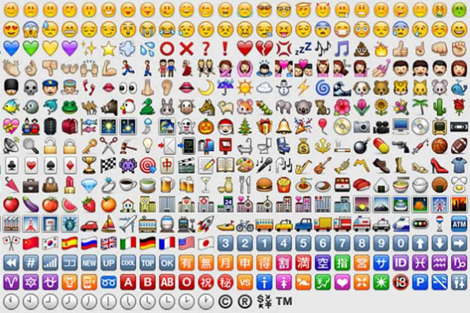 250 Emoticones En Plus Dans Ios 8