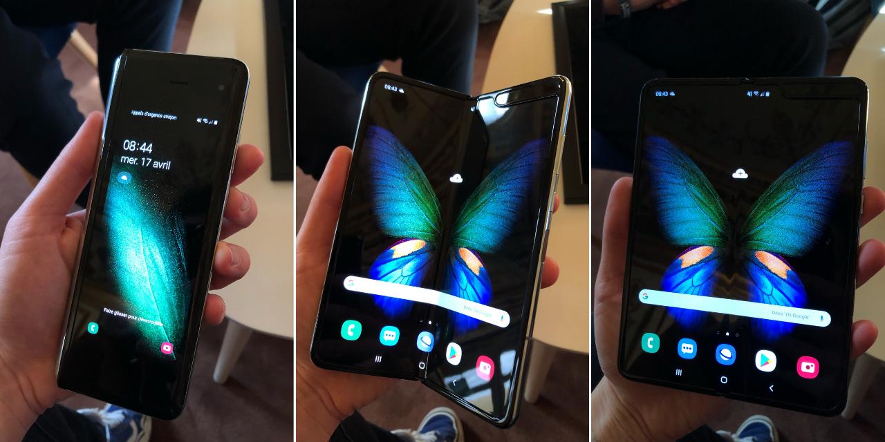 On a essayé le Samsung Galaxy Fold : à quoi va servir le tout premier smartphone pliable ?