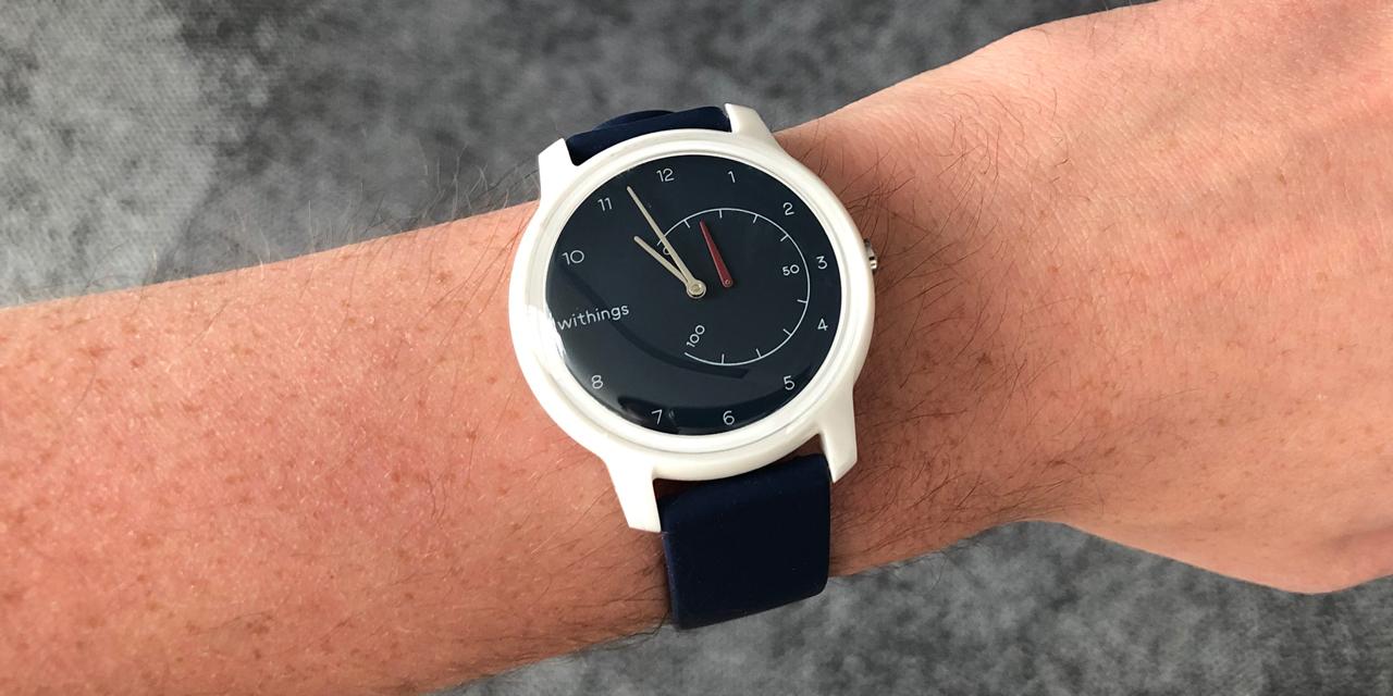 On a testé la Withings Move, la montre connectée qui vous veut du bien