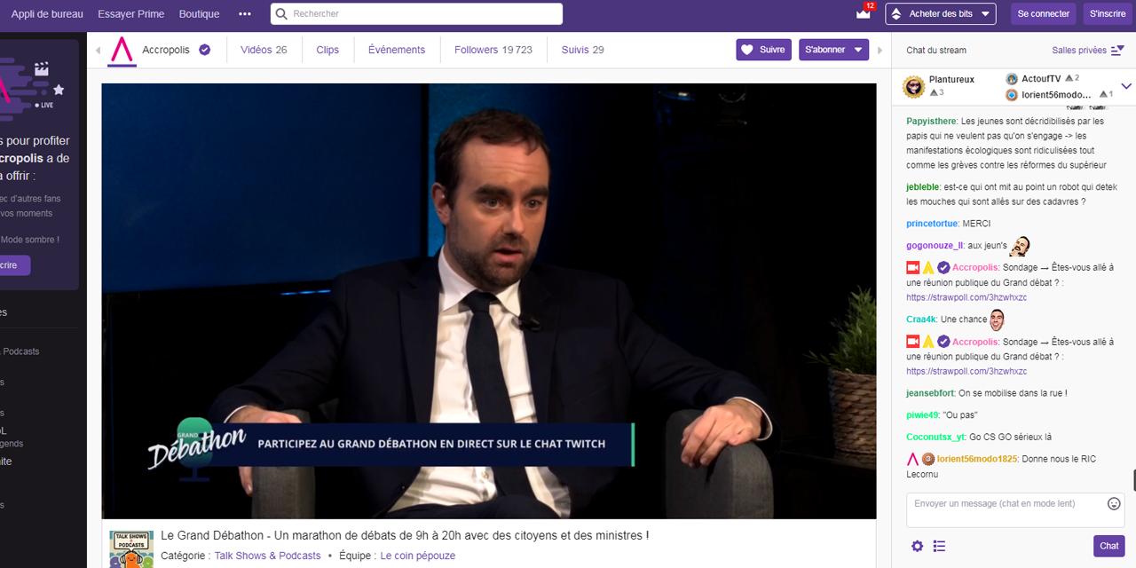 Qu'est-ce que Twitch, la plateforme choisie par le gouvernement pour
