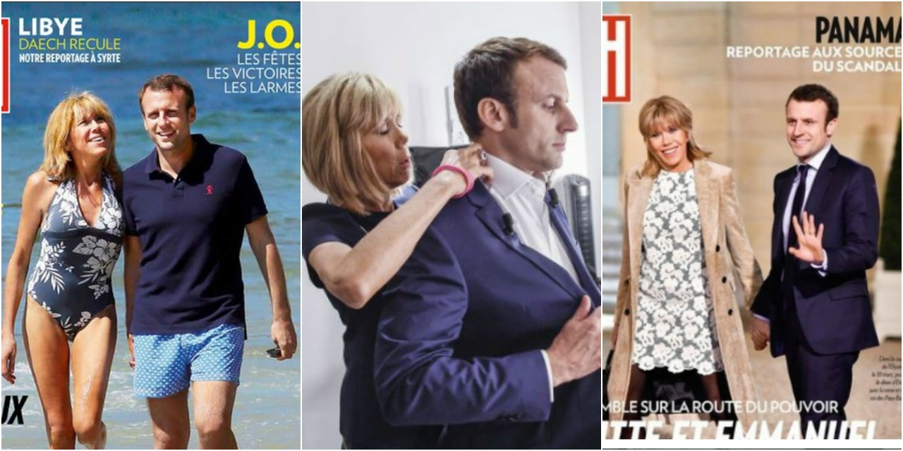 Les Tres Frequentes Apparitions D Emmanuel Macron Et Son Couple Dans Paris Match