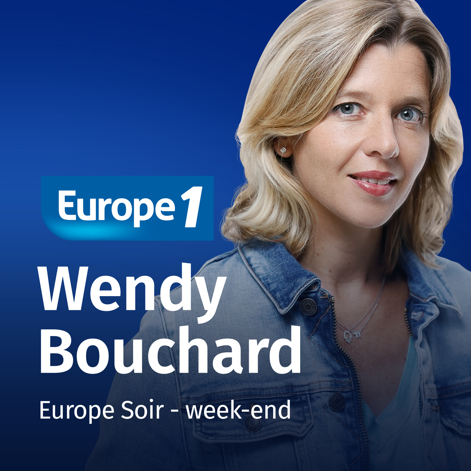 Image 1: Podcast Le grand journal du week end Wendy Bouchard sur Europe 1